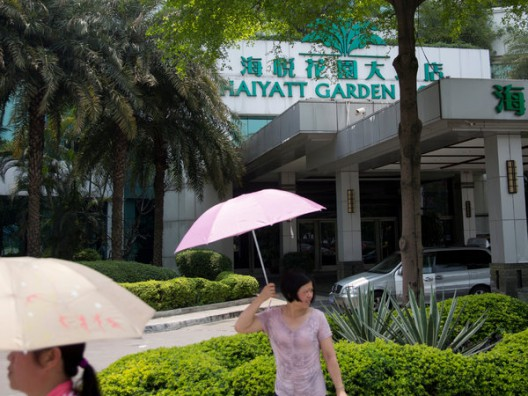 Welcome to the Haiyatt. In China it is not the Hotel it Sounds Like, Julie Weed