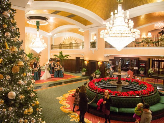 For Some Hotel Employees, It's Home for the Holidays, Julie Weed