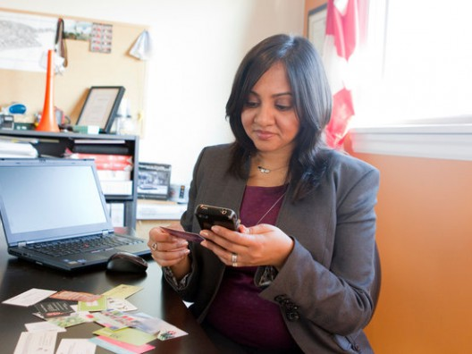 Business Cards Give Way to Cellphone Apps for Networking, Julie Weed
