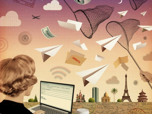 Foiling Cyberspies On Business Trips, Julie Weed