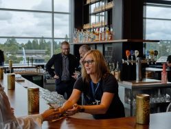 Airport Lounges – Improved But Crowded, Julie Weed