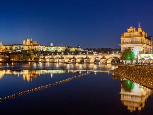 prague scene- article on travel vouchers